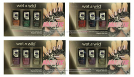 WET N WILD* 3pc Set MAGNETIC Nail Polish/Color *YOU CHOOSE* Opposites At... - $9.29
