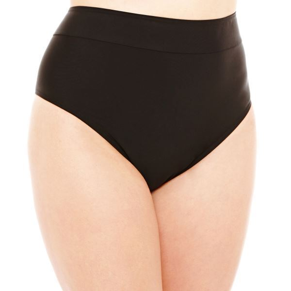 St. John's Bay High-Waist Pant Swim Bottoms Size 22W, 24W Msrp $44.00 - $21.99