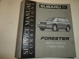 Subaru Service Manual Corrections Binder Only W/TABS Factory Oem Dealership - $19.75