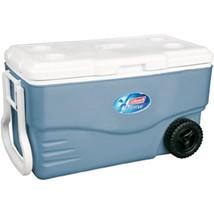 Coleman 100 Quart Xtreme Wheeled Blue Cooler 6201A748 - €173,73 EUR