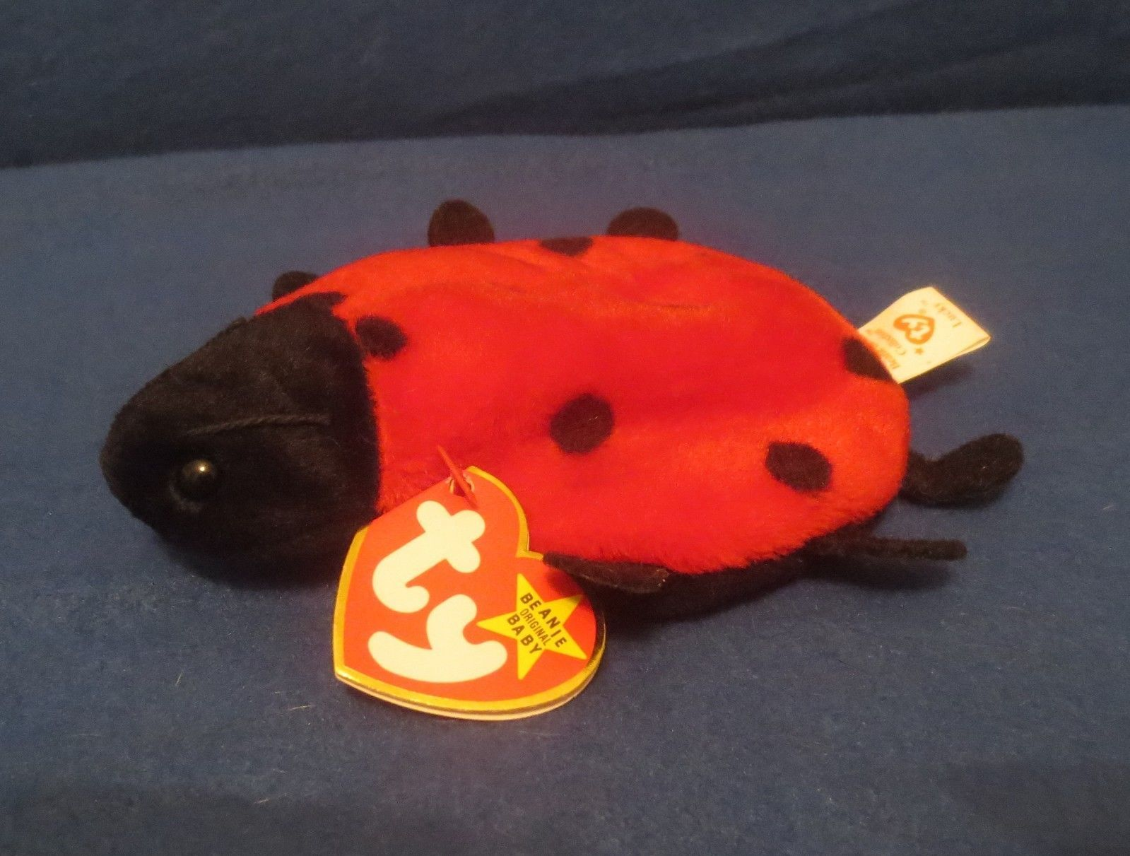 Ty Beanie Baby Lucky  4th Generation PVC Filled