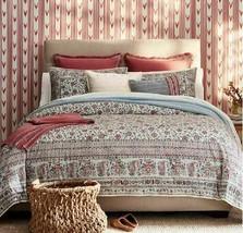 "Ralph Lauren Belle Pointe ""Camellia"" 1pc Throw Blanket Dusty Red Nip $355 - $168.84"