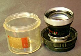 Carl Zeiss Pro-Tessar Lens f=85mm with fitted Zeiss Ikon Case AA-192032 Vintage image 6