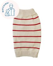 Poppy Stripe Sweater - Matching Sizes Dogs + Humans - $94.95+