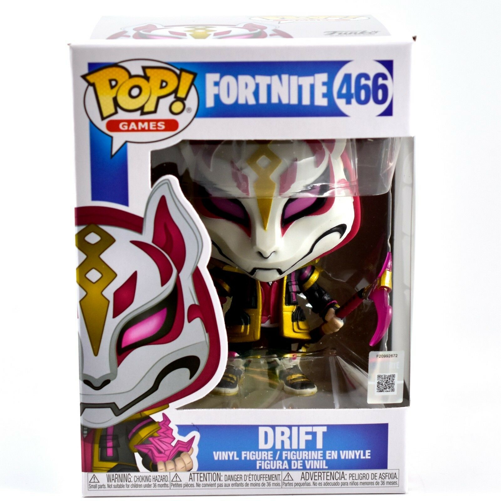 Funko Pop! Games Fortnite Character Drift #466 Vinyl Action Figure NIB IN HAND