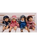 Lot 4 Vintage Gigo My Pals Bean Bag Kids 1998 Collection Tim Tiffany Dea... - $39.59