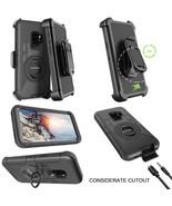 Galaxy S9 Case Heavy Duty Shockproof Kickstand Swivel Belt Clip Full Bod... - $21.28