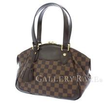 LOUIS VUITTON Verona PM Damier Ebene Handbag N41117 France Authentic 551... - $914.63