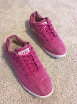 UGG Australia Hally Raspberry Sorbet Pink Womens Sneakers Size 7 - $46.74