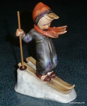 Skier Goebel Hummel Figurine #59 TMK3 Boy Skiing Downhill GREAT COLLECTI... - $63.04