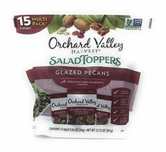 Orchard Valley Harvest Snack Packs - 15 Ct. Non GMO Project Verified, No Artific