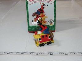 HALLMARK Merry Miniatures Charm Goofy's Caboose Mickey Express 1998 - $10.68