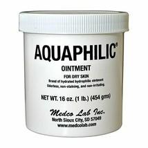 Aquaphilic Moisturizer Ointment 16 oz. Jar, Unscented, 1 Each - $24.38