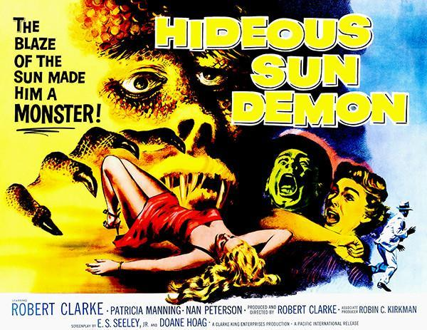Primary image for Hideous Sun Demon - 1959 - Movie Poster