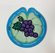 Fisher Price Turtle Picnic Matching Game Replacement Lily Pad Grapes Card 1998 - $5.98
