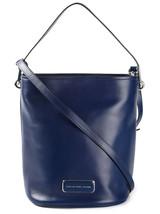 Marc Jacobs Ligero Bucket Handbag Leather Crossbody Satchel ~NWT~ Blue - $245.52