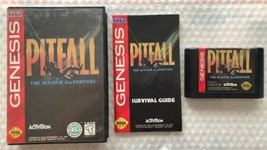 Pitfall The Mayan Adventure (Sega Genesis 1994) AUTHENTIC Complete in Ca... - $13.00