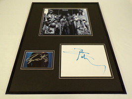 The Who Daltrey & Townshend Dual Signed Framed 16x20 Photo Display PSA/DNA - $558.99