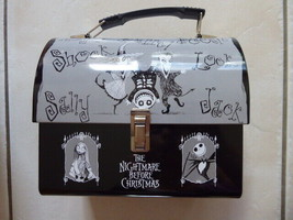 Disney Nightmare Before Christmas Dome Top Metal Lunch Box  - $46.75