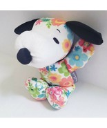 Snoopy Plush Stuffed Animal Floral Flowers NEW Hallmark - $16.92