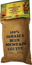 100 Percent Jamaica Blue Mountain Coffee Ridgelyne Roasted & Ground Organic 16oz - $44.88