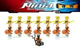 15Pcs/set Ninjago Desert Pyro Vipers Char Pyro Destroyers Minifigures Toys - $29.99
