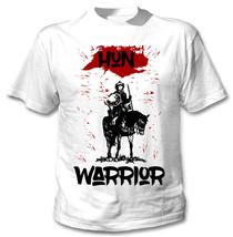 Hun Warrior - New Cotton White Tshirt - $22.92