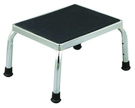 Essential Medical Supply P2700 Chrome Plated Foot Stool 1 per case