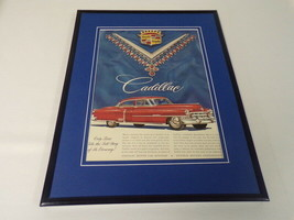 1951 Cadillac Framed 11x14 ORIGINAL Advertisement - $46.39