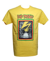 Bad Brains - Capitol Yellow - Men's Yellow T-shirt DC - $19.78