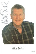 MIKE SMITH AUTOGRAPH *TV & RADIO PRESENTER* HAND SIGNED 6X4 PHOTOCARD - $16.92