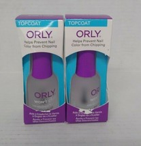 Set of 2: Orly Won't Chip Nail Lacquer, Topcoat - $16.83