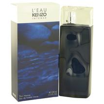 L'eau Par Kenzo Intense By Kenzo Eau De Toilette Spray 3.3 Oz For Men - $55.55