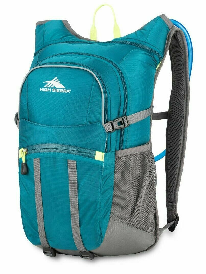 Primary image for High Sierra HydraHike 20L Hydration Pack Lagoon/Slate/Zest