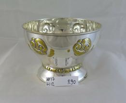 Antique Bowl Centerpieces Eneret Astral Silverplate Art Nouveau Bowl R90 - $157.97
