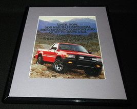 1987 Mazda 4x4 Framed 11x14 ORIGINAL Vintage Advertisement - $32.36