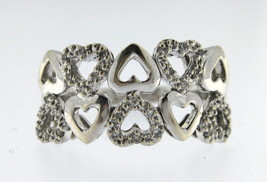 Women's 18kt White Gold Cluster ring - $499.00