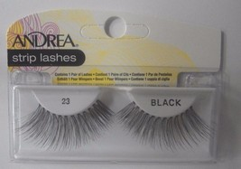 Andrea's Strip Lashes Fashion Eye Lash Style 23 Black (Pack of 6) - $21.98