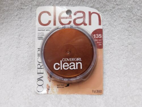 COVERGIRL ~ Clean Pressed Powder Compact For Normal Skin ~ Medium Light 135 - $9.89