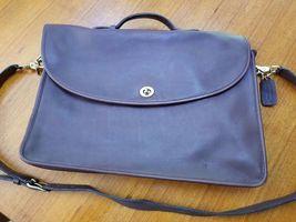Vintage Coach Burgundy Leather Women's Briefcase - $40.00