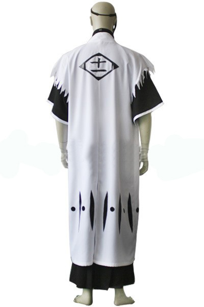 Bleach 11th Division Captain Zaraki Kenpachi Cosplay Costume