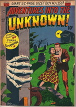 Adventures Into The Unknown Comic Book #19, ACG 1951 VERY GOOD+ - $81.19