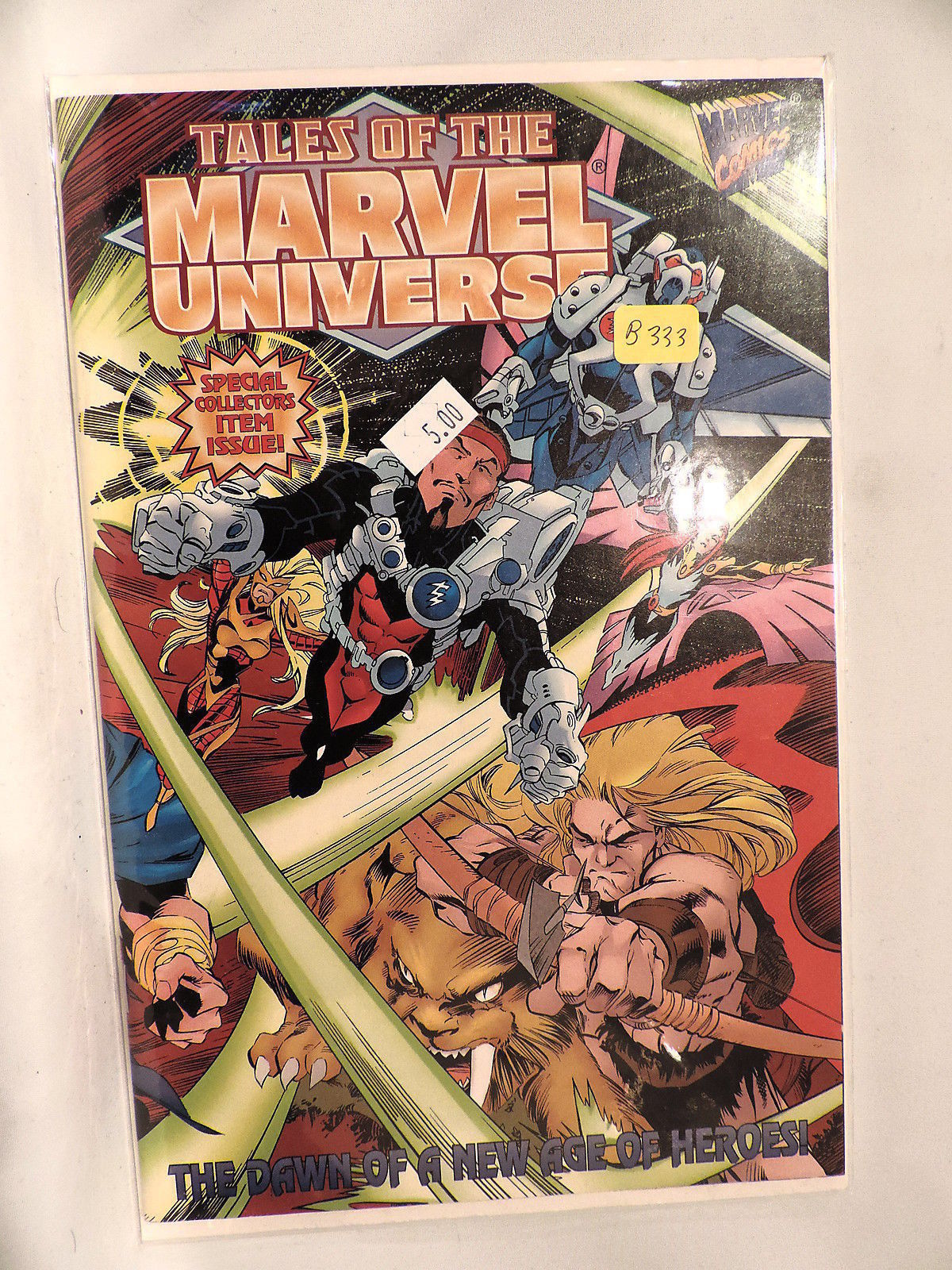 #1 Tales of the Marvel Universe 1997  Marvel Comics B333