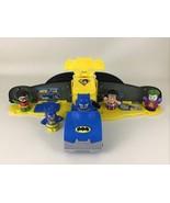 DC Super Friends Little People 2 In 1 Transforming Batmobile Figures Mat... - $35.59