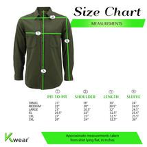 Men's Premium Cotton Button Up Long Sleeve Plaid Comfortable Flannel Shirt image 2