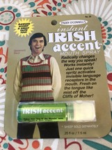Paddy O'Connell's Instant Irish Accent Mouth Spray Spearmint Flavour - $14.99