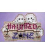 CLEARANCE Haunted Zone Autumn Harvest 2015 ornament kit cross stitch Mil... - $4.50