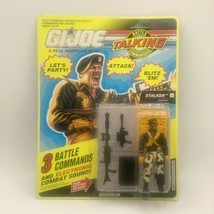 G.I. Joe Stalker Ranger 2 Talking Posable Action Figure Hasbro 1991 Work... - $37.74