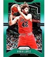 2019-20 Panini Prizm Prizms Green #206 Robin Lopez Bucks - $2.95