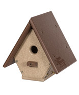 A-FRAME WREN HANGING BIRDHOUSE - 100% Recycled Weatherproof Poly Amish H... - $46.03+